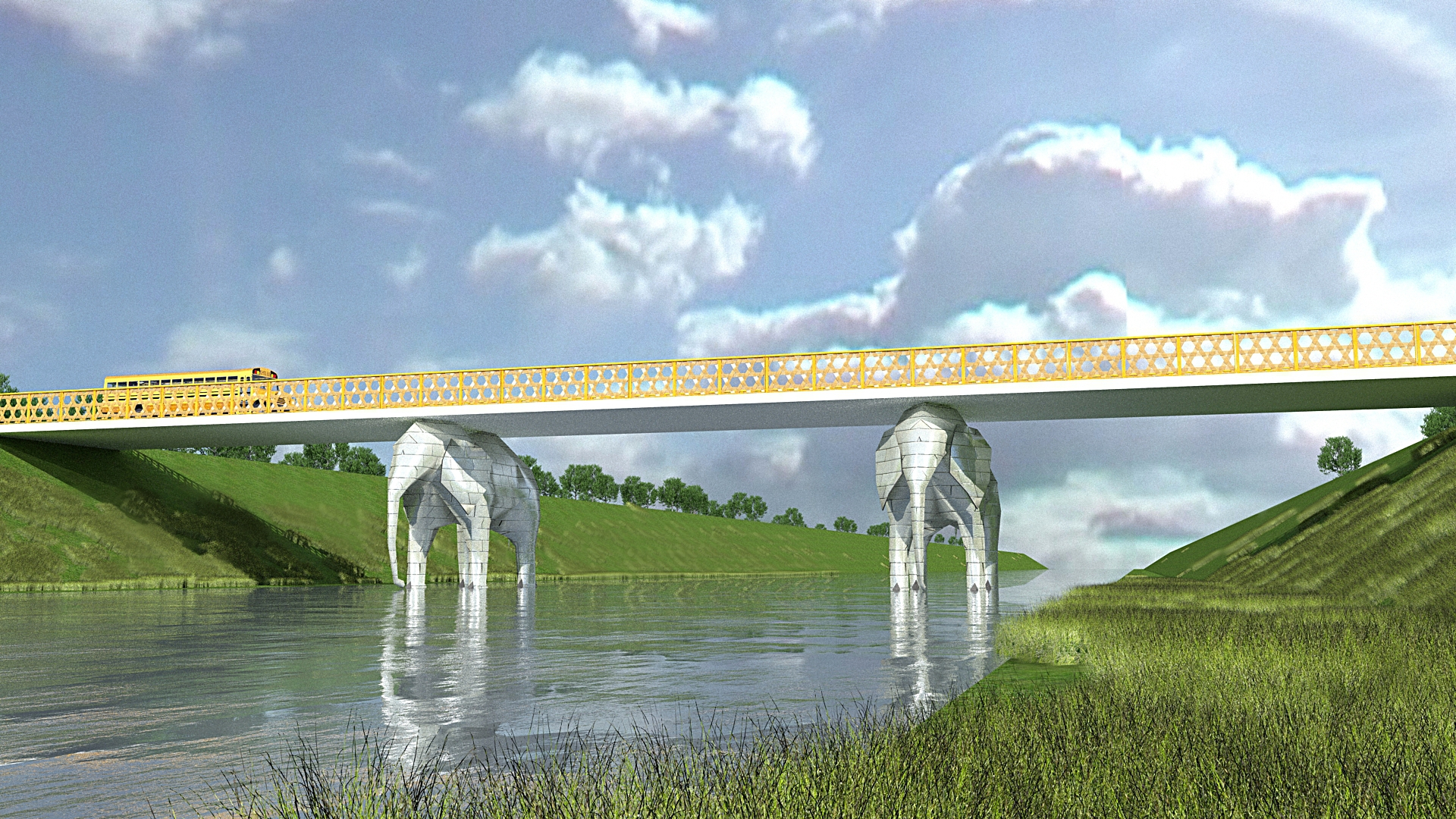 Pics For Gt Famous Beam Bridges In The World