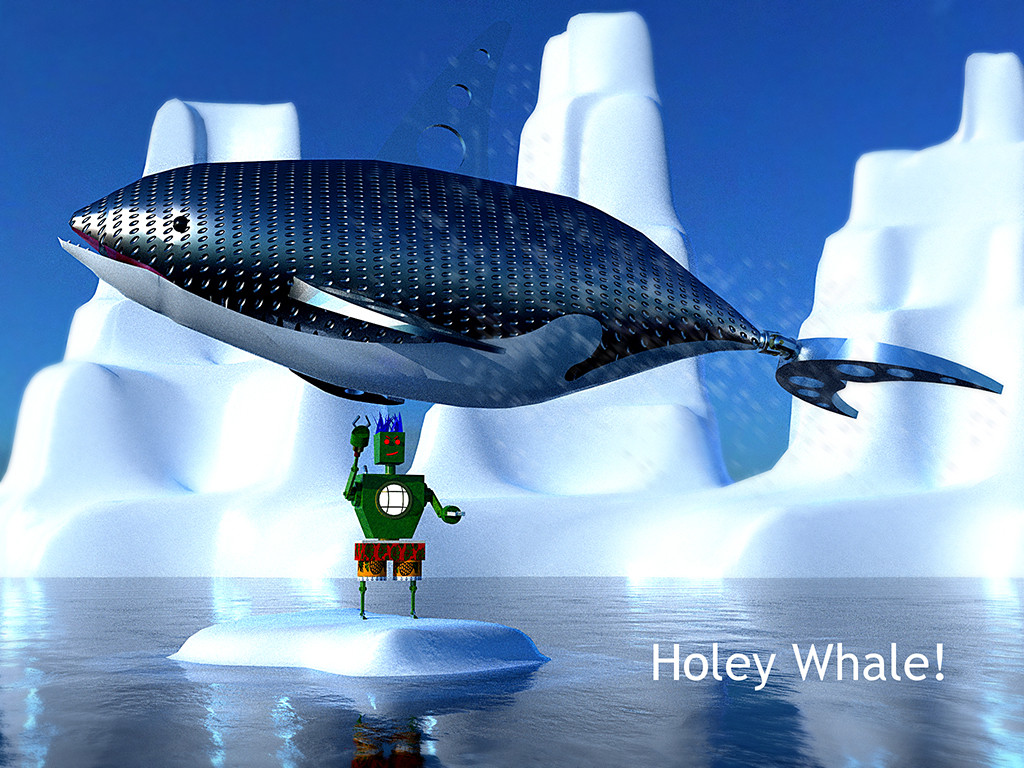 holey whale
