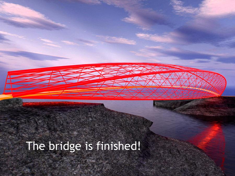 final 3d printed bridge